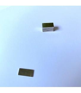 IMÁN RECTANGULAR 10x5x1 mm