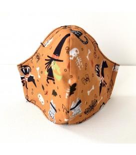 Mascarilla Hallowey Naranja