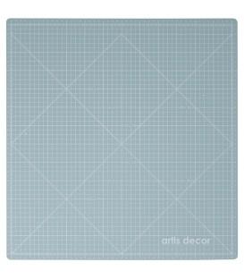 PLANCHA DE CORTE 32X33,5CM. (SCRAP MAT PLUS) MINT/ROSA ARTIS DECOR