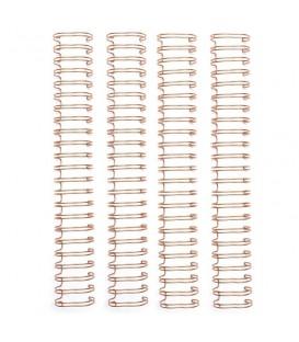 Espirales para Encuadernación Oro Rosa