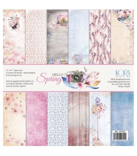 Pack de papeles - Hello Spring