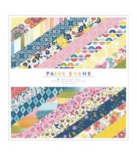Block Papeles Grandes Wonders Paige Evans