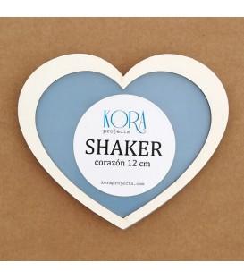 Shaker corazón 12 cm.