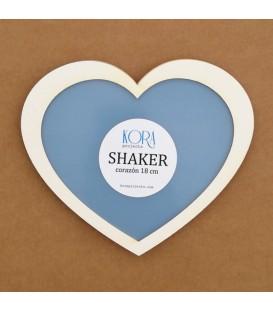 Shaker corazón 18 cm.