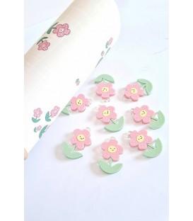 Flor rosa BONITA