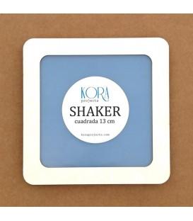 Shaker cuadrada 13 cm