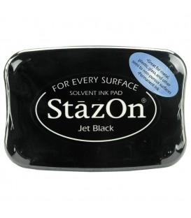 TINTA STAZON TAMPON 50GR. JET BLACK