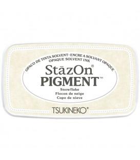 TINTA STAZON PIGMENTO - TAMPON 50GR. SNOWFLAKE