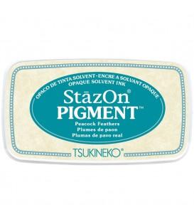 TINTA STAZON PIGMENTO TAMPON 50GR. PEACOCK