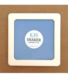 Shaker cuadrada 17 cm