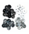 Eyelets anchos grises. We R Memory Keepers