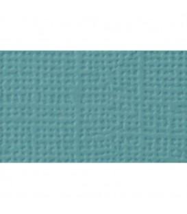 Cartulina textura lienzo, AZUL BALEAR 30x30