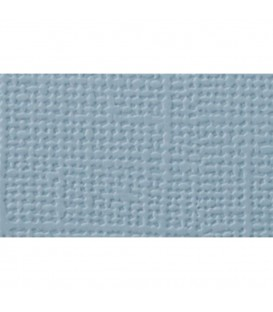 Cartulina textura lienzo, AZUL PASTEL 30x30